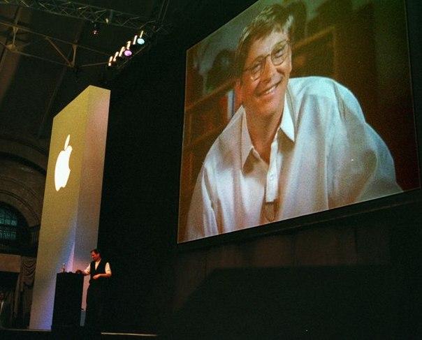 Если бы Microsoft не продали свои акции Apple ($150 млн). Они бы сегодне