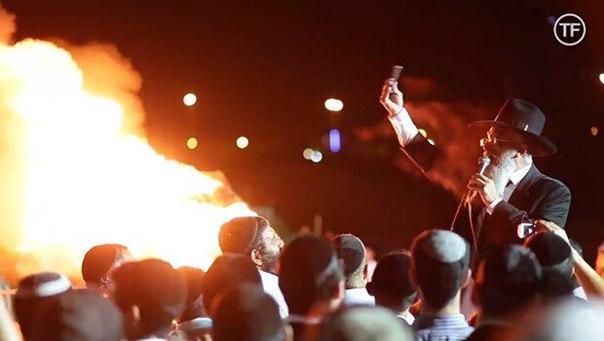 В iPhone нашли зло и сожгли На минувших выходных ортодоксальные евреи праздновали религиозный